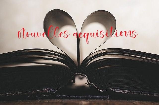BIBLIOTHÈQUE – NOUVELLES ACQUISITIONS