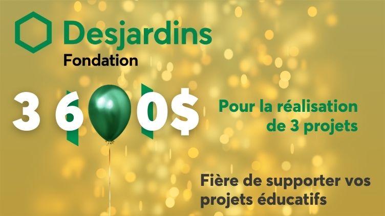 Prix Fondation Desjardins